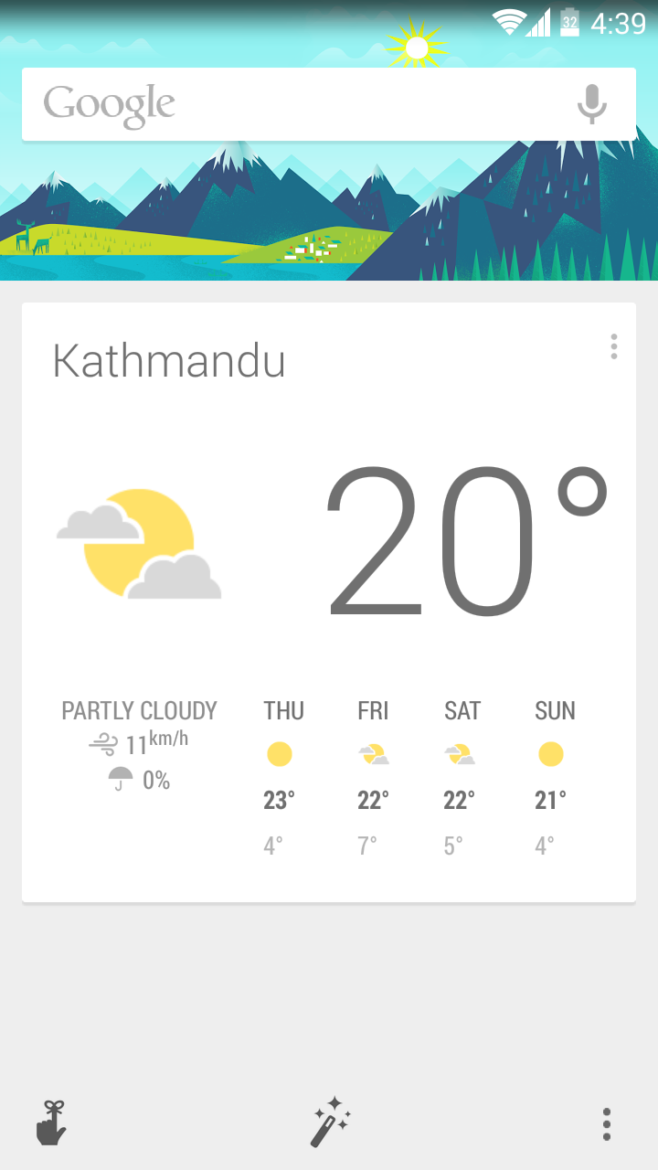 How to enable Google Now  in Nepal and other countries