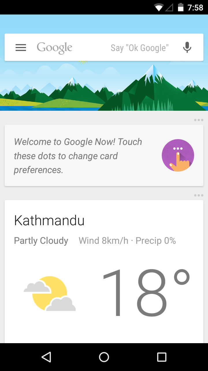 How to enable Google Now on Android 5.0 Lollipop in Nepal ...