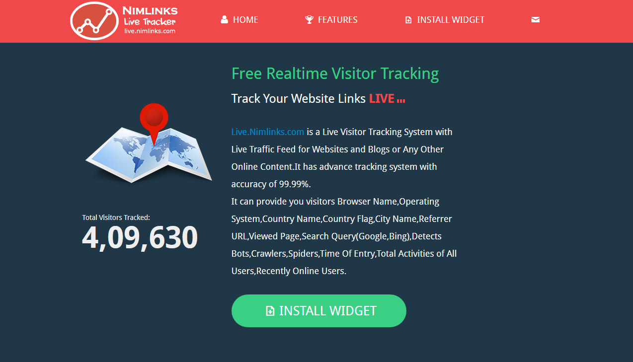 Best Free Live Tracking Feed Website Widget in 2015