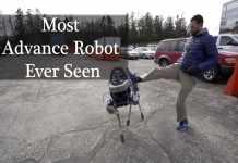 Most Advance robot Dog