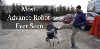 Most Advance robot Dog