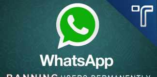 Whatsapp permanently banning users