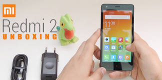 Xiaomi Redmi 2 Indian Unboxing