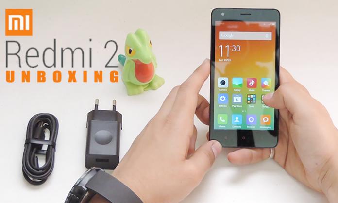 Xiaomi Redmi 2 Indian Unboxing