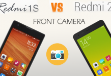 Xiaomi Redmi 2 Vs Remi 1S front Camera Review
