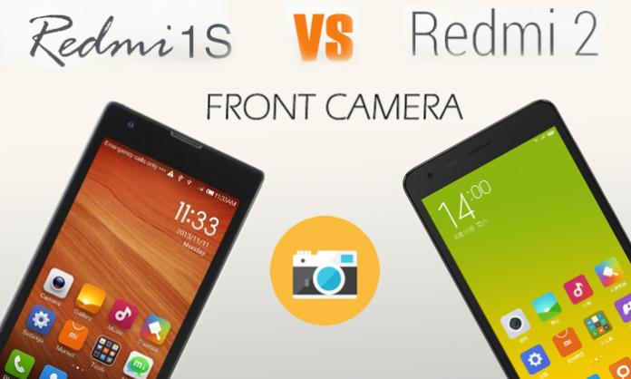 Xiaomi Redmi 2 Vs Remi 1S front Camera Review