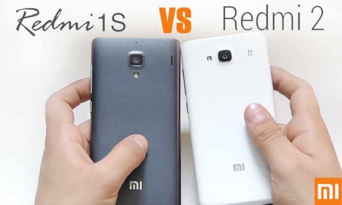 Xiaomi Redmi 1s vs Xiaomi Redmi 2