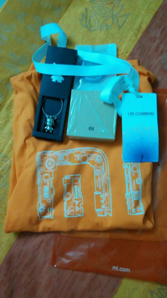 Xiaomi mi4i Launch Goodies Received by visitors - techniblogic
