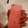 Xiaomi mi4i back with mi logo Pink - techniblogic