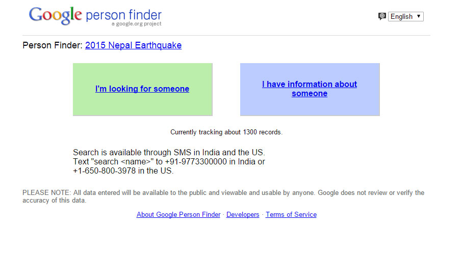 person-finder-for-nepal - Techniblogic