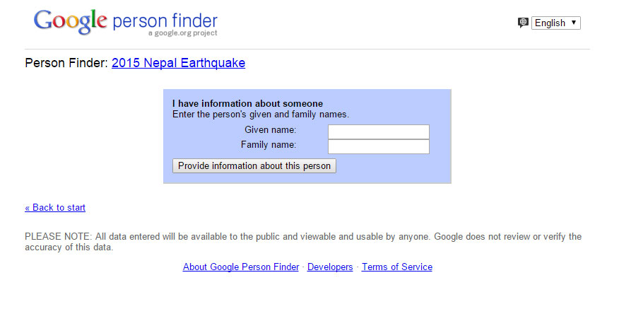 person-finder-for-nepal-have-information-about-someone - Techniblogic