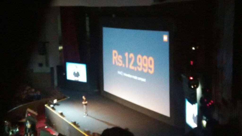 xiaomi mi4i lauch with price INR Rs. 12,999xiaomi mi4i lauch with price INR Rs. 12,999