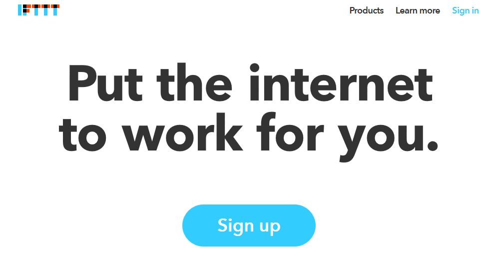 IFTTT Put the internet to work for you-techniblogic