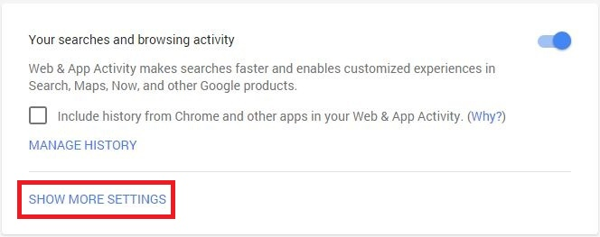 google-web-app-activity-center-setting - techniblogic