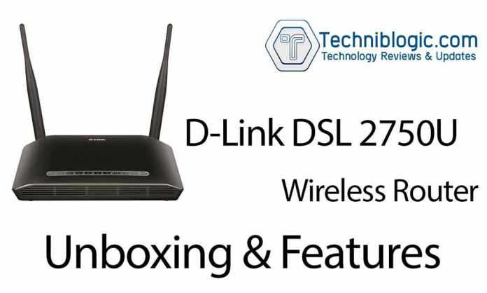 D-Link-DSL-2750U-Wireless-Router-Unboxing-&-Features---techniblogic