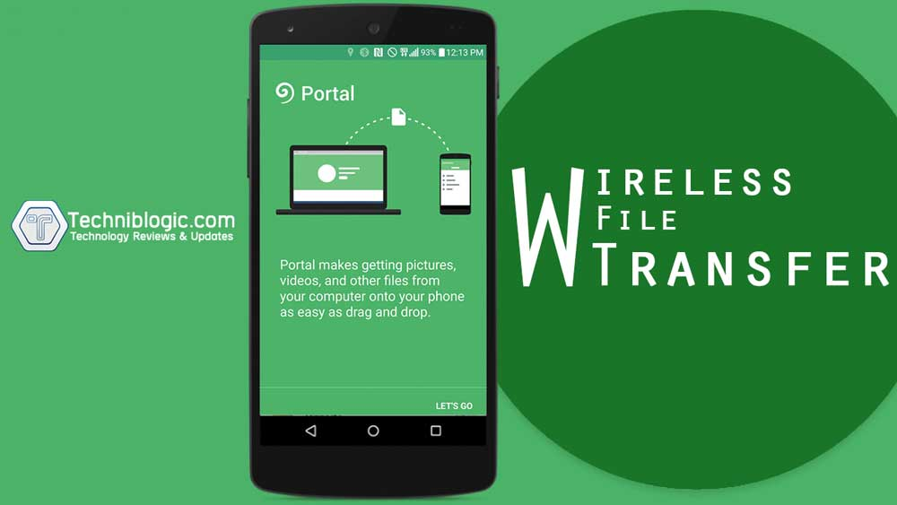 How to Wirelessly transfer files to your phone - techniblogic