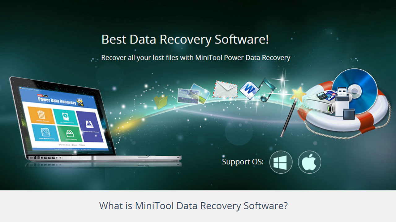 MiniTool Power Data Recovery 7 Banner - Techniblogic