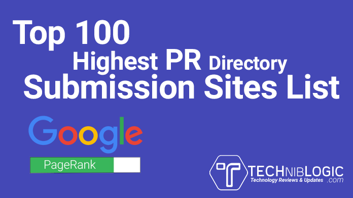 Top-100-Highest-PR-Directory-Submission-Sites-List