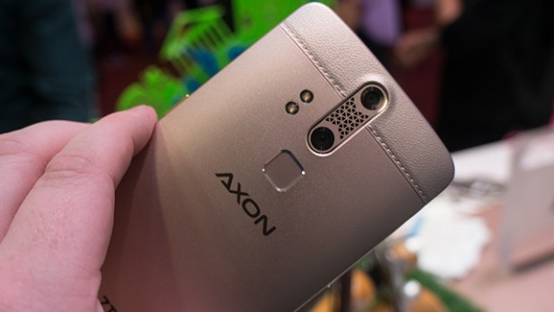 ZTE Axon Elite design - techniblogic