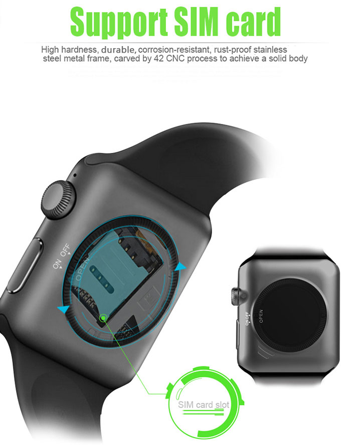 Sim Card Slot in Smartwatch - techniblogic