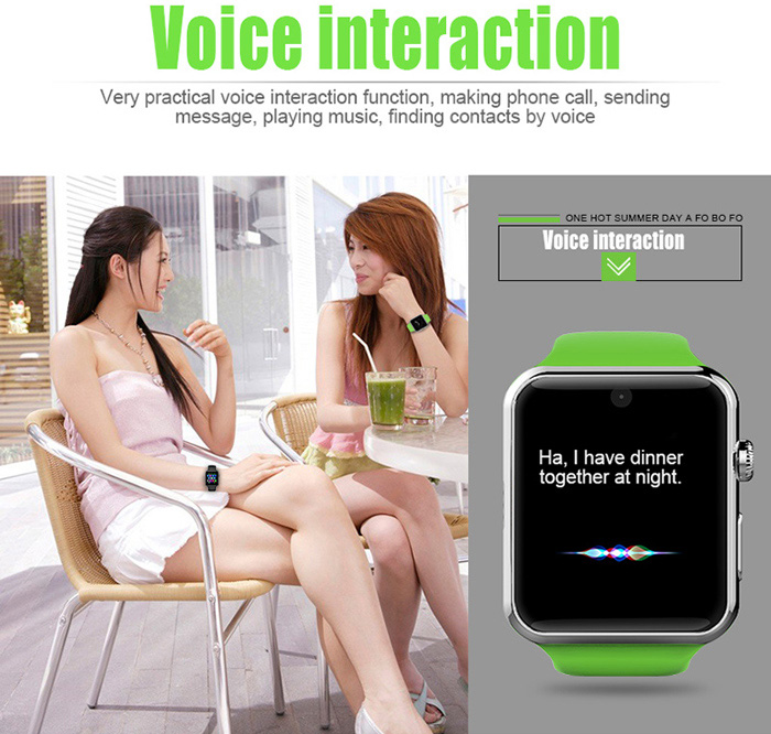 Voice interaction in smatwatch - techniblogic