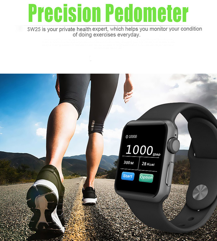 Pedometer for step control in smartwatch - techniblogic