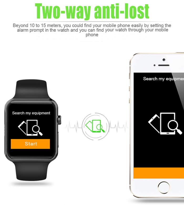 Anti Lost Feature in smartwatch - techniblogic