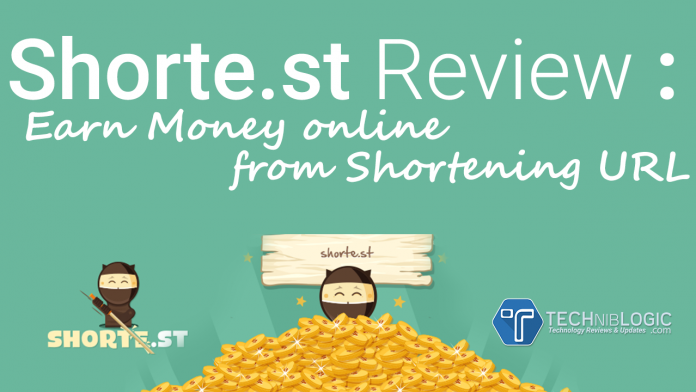 Shorte.st Review : Earn Money online from Shortening URL