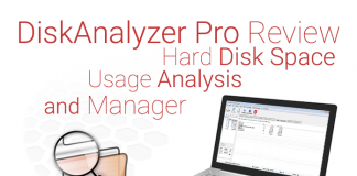 DiskAnalyzer Pro Review : Hard Disk Space Usage Analysis and Manager