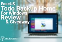 EaseUS Todo Backup Home for Windows Review & Giveaway