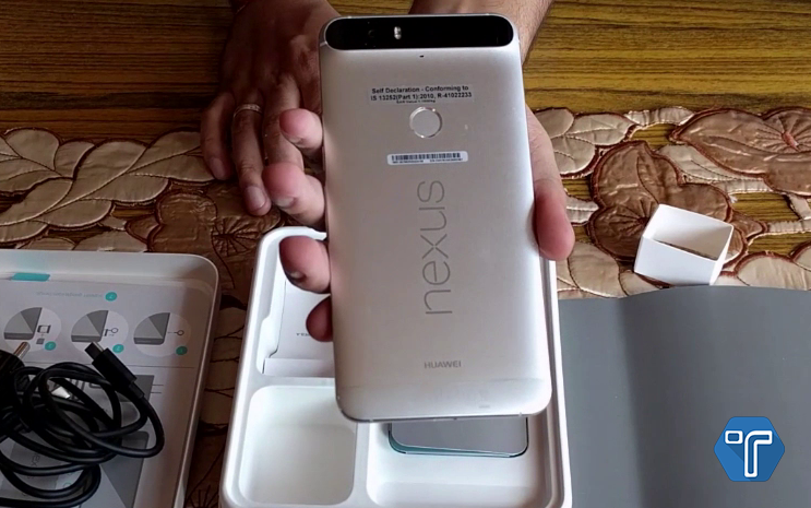Nexus 6p FingerPrint Sensor- Techniblogic