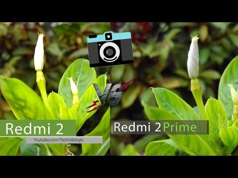 Xiaomi Redmi 2 Vs Xiaomi Redmi 2 Prime Camera Comparison