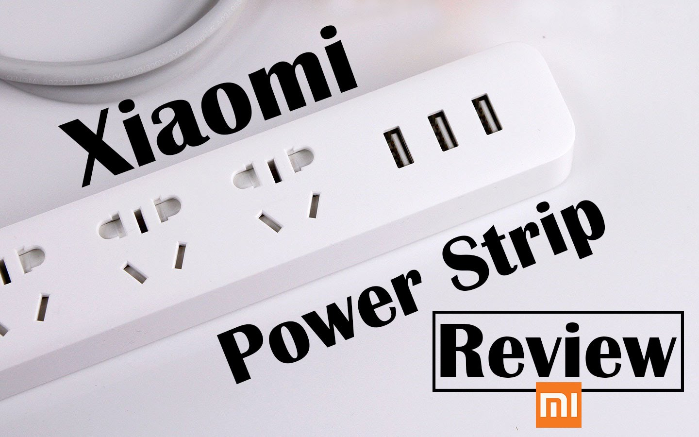 Xiaomi Mi Smart Power Strip Plug Adapter Review