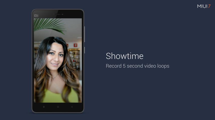 miui7 showtime - Techniblogic