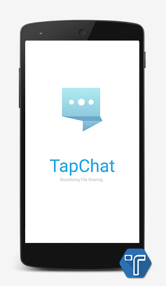 open TapChat app chat without internet