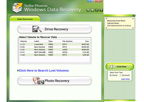 bidInfo Windows Data Recovery Software