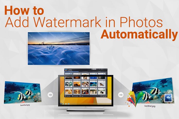 Add Watermark in Photos