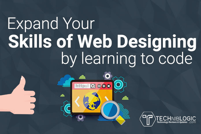 how to develop skills in web designing
