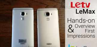 LeTV/LeEco LeMax India Hands-on Overview and First Impressions