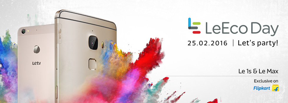 LeEco Day on 25th Feb ! Offering ₹8 Crore worth of benefits