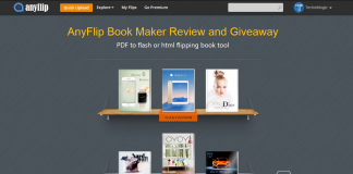 Any Flip Book Maker Review and Giveaway