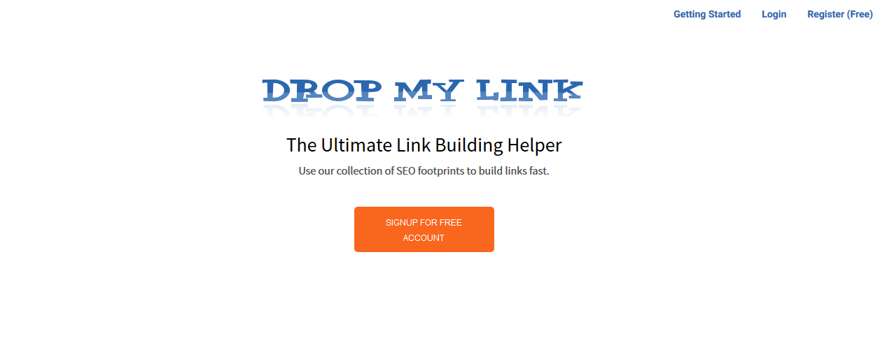 dropmylink-website
