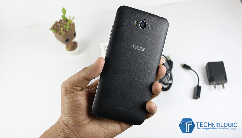 Asus Zenfone Max back - Techniblogic