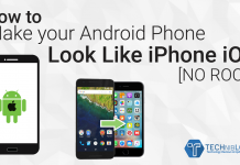 How to Make your Android Phone Look Like iPhone iOS