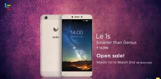 LeEco Le 1s now available on open sale on Flipkart