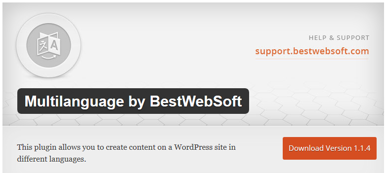 Multilanguage by BestWebSoft