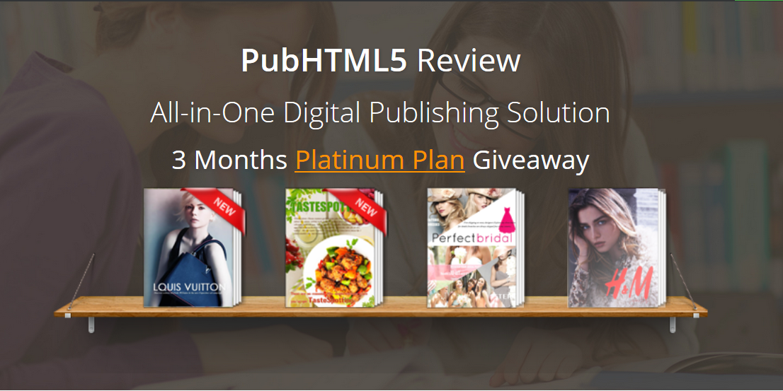 PubHTML5 Review : All-in-One Digital Publishing Solution + Giveaway