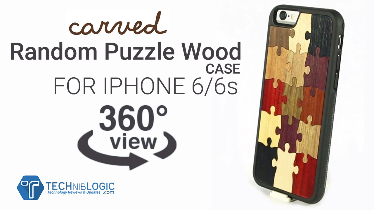 Carved Random Puzzle iPhone 6/6s Wood Case