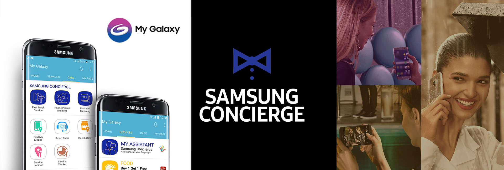 Samsung Concierge powered by My Galaxy