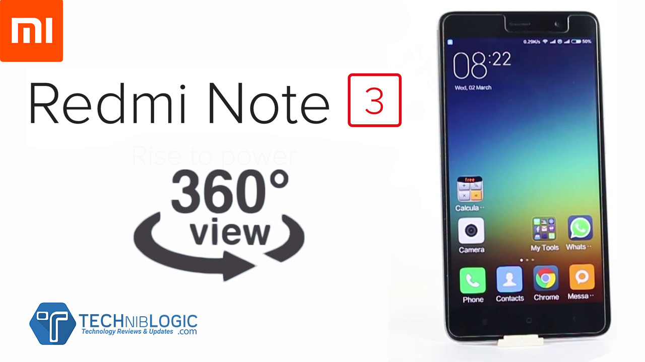 Xiaomi Redmi Note 3 | 360 Degree View